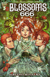 Cover Thumbnail for Blossoms: 666 (Archie, 2019 series) #5 [Cover A Laura Braga]