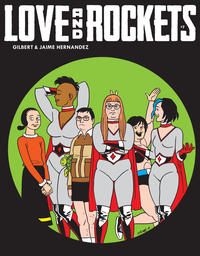 Cover Thumbnail for Love and Rockets (Fantagraphics, 2016 series) #7