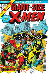 Cover Thumbnail for Giant-Size X-Men No.1 Facsimile Edition (Marvel, 2019 series)