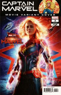 Cover Thumbnail for Captain Marvel (Marvel, 2019 series) #3 [Movie Photo Cover]