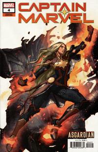 Cover Thumbnail for Captain Marvel (Marvel, 2019 series) #4 (138) [Gerald Parel 'Asgardian' Cover]