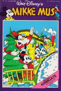 Cover Thumbnail for Mikke Mus (Hjemmet / Egmont, 1980 series) #12/1982
