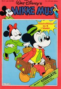 Cover Thumbnail for Mikke Mus (Hjemmet / Egmont, 1980 series) #4/1983