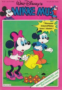 Cover Thumbnail for Mikke Mus (Hjemmet / Egmont, 1980 series) #6/1983