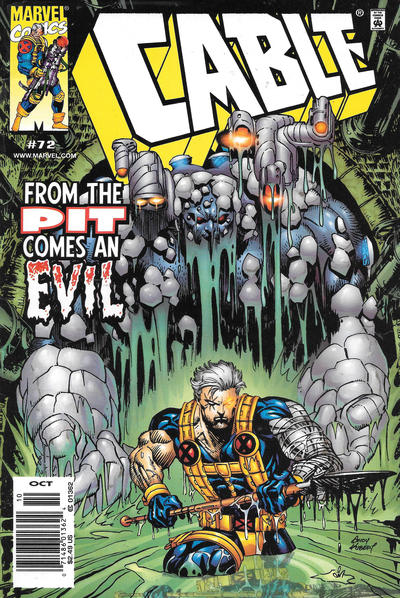 Cover for Cable (Marvel, 1993 series) #72 [Direct Edition]