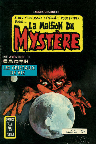 Cover for La Maison du Mystère (Arédit-Artima, 1975 series) #11