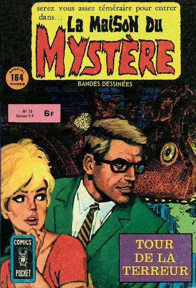 Cover for La Maison du Mystère (Arédit-Artima, 1975 series) #15