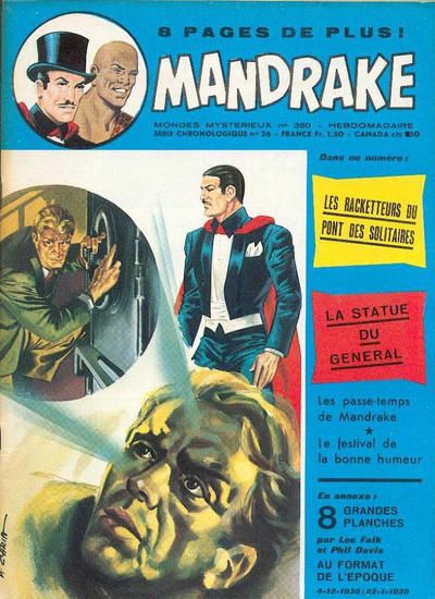 Cover for Mandrake (Éditions des Remparts, 1962 series) #380