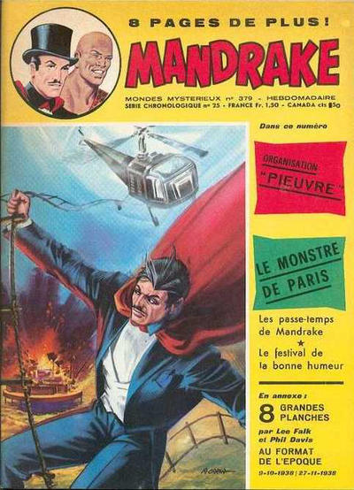 Cover for Mandrake (Éditions des Remparts, 1962 series) #379