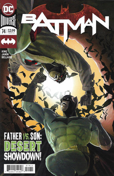 Cover for Batman (DC, 2016 series) #74