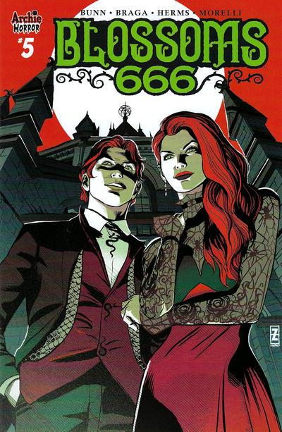 Cover for Blossoms: 666 (Archie, 2019 series) #5 [Cover B Adam Gorham]