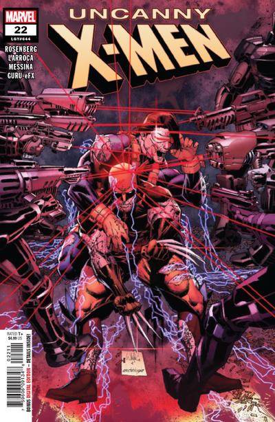 Cover for Uncanny X-Men (Marvel, 2019 series) #22 (644)