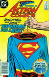 Cover Thumbnail for Action Comics (1938 series) #581 [Canadian]