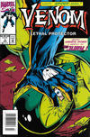 Cover for Venom: Lethal Protector (Marvel, 1993 series) #3 [Newsstand]