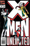 Cover for X-Men Unlimited (Marvel, 1993 series) #4 [Newsstand]