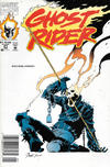 Cover for Ghost Rider (Marvel, 1990 series) #21 [Newsstand]