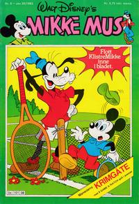 Cover Thumbnail for Mikke Mus (Hjemmet / Egmont, 1980 series) #8/1983