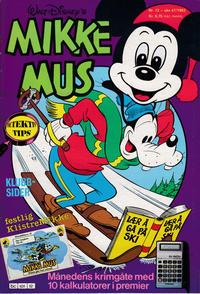 Cover Thumbnail for Mikke Mus (Hjemmet / Egmont, 1980 series) #12/1983