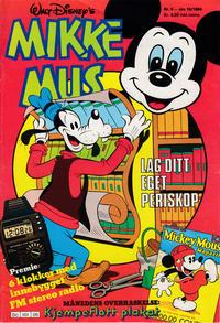 Cover Thumbnail for Mikke Mus (Hjemmet / Egmont, 1980 series) #5/1984