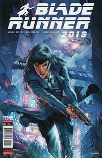 Cover Thumbnail for Blade Runner 2019 (Titan, 2019 series) #1 [Cover D - John Royle]