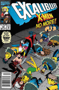 Cover Thumbnail for Excalibur (Marvel, 1988 series) #58 [Newsstand]
