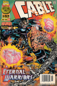 Cover Thumbnail for Cable (Marvel, 1993 series) #35 [Newsstand]