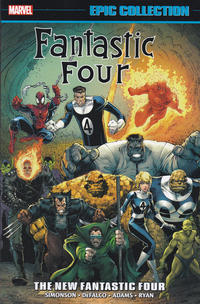 Cover Thumbnail for Fantastic Four Epic Collection (Marvel, 2014 series) #21 - The New Fantastic Four