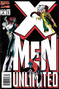 Cover Thumbnail for X-Men Unlimited (Marvel, 1993 series) #4 [Newsstand]