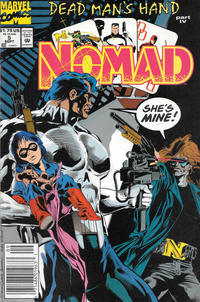 Cover Thumbnail for Nomad (Marvel, 1992 series) #5 [Newsstand]