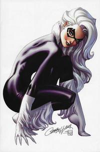 Cover Thumbnail for Black Cat (Marvel, 2019 series) #1 [Golden Apple Comics Exclusive - J. Scott Campbell Virgin Art]