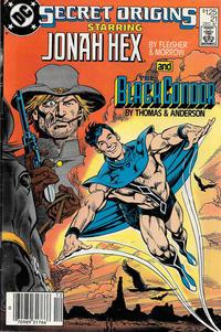 Cover Thumbnail for Secret Origins (DC, 1986 series) #21 [Newsstand]