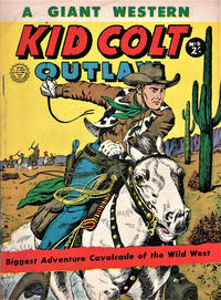 Cover Thumbnail for Kid Colt Outlaw Giant (Horwitz, 1960 ? series) #6
