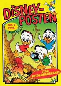 Cover Thumbnail for Disney-posten (Hjemmet / Egmont, 1995 ? series) #7/1996