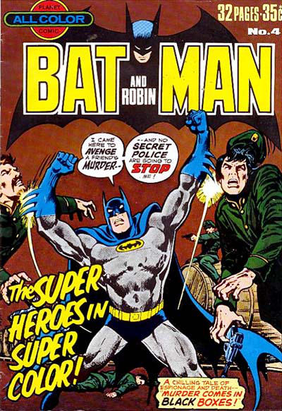 Cover for Batman and Robin (K. G. Murray, 1976 series) #4
