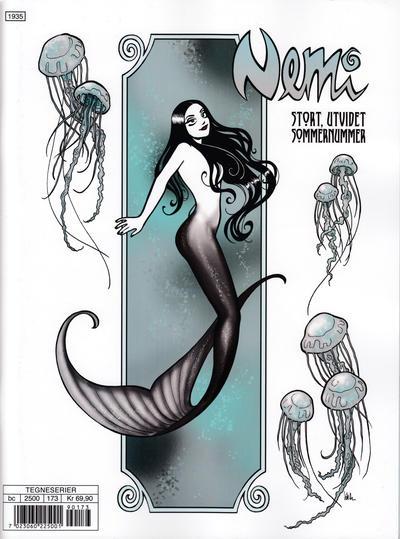 Cover for Nemi (Gyldendal Norsk Forlag, 2018 series) #173