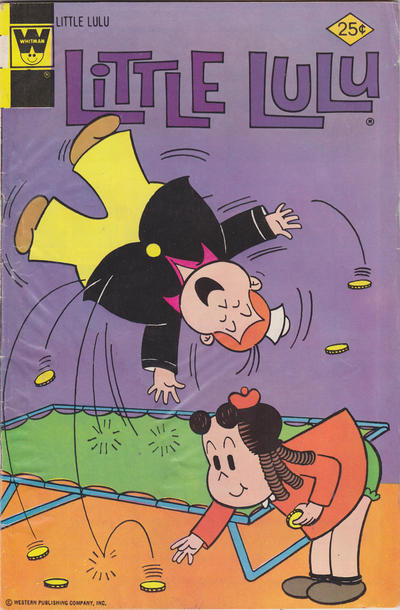 Cover for Little Lulu (Western, 1972 series) #234 [Gold Key]