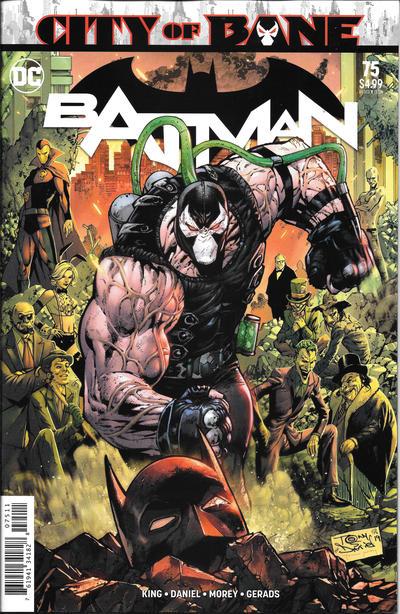 Cover for Batman (DC, 2016 series) #75