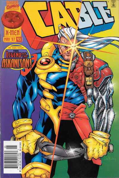 Cover for Cable (Marvel, 1993 series) #43 [Direct Edition]