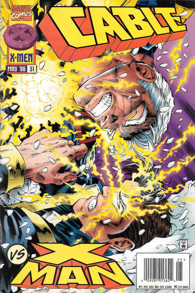 Cover for Cable (Marvel, 1993 series) #31 [Direct Edition]