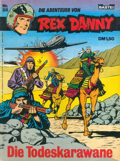 Cover for Rex Danny (Bastei Verlag, 1973 series) #28