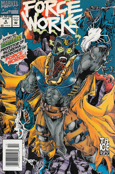 Cover for Force Works (Marvel, 1994 series) #4 [Direct Edition]