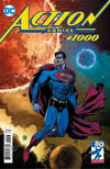 Cover Thumbnail for Action Comics (2011 series) #1000 [Fried Pie Comics Con 3 Exclusive Doug Mahnke Cover]