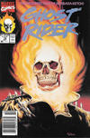 Cover for Ghost Rider (Marvel, 1990 series) #18 [Newsstand]