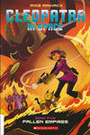 Cover for Cleopatra in Space (Scholastic, 2015 ? series) #5 - Fallen Empires