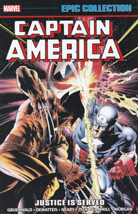 Cover Thumbnail for Captain America Epic Collection (Marvel, 2014 series) #13 - Justice Is Served
