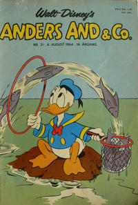 Cover Thumbnail for Anders And & Co. (Egmont, 1949 series) #31/1964