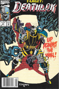 Cover Thumbnail for Deathlok (Marvel, 1991 series) #11 [Newsstand]
