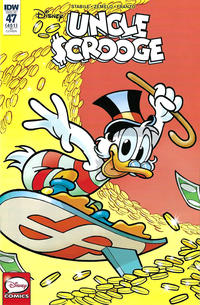 Cover Thumbnail for Uncle Scrooge (IDW, 2015 series) #47 / 451 [Retailer Incentive - Andrea Freccero]