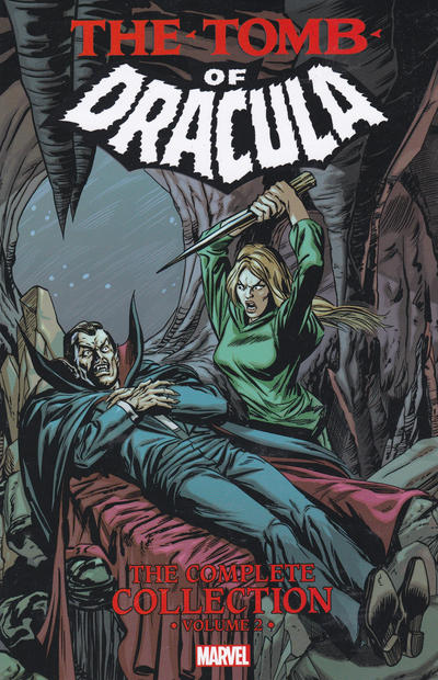 Cover for Tomb of Dracula: The Complete Collection (Marvel, 2017 series) #2
