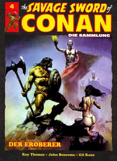 Cover for The Savage Sword of Conan - Die Sammlung (Hachette [DE], 2017 series) #4 - Der Eroberer